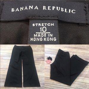 Sz 10 Banana Republic Cuffed Straight Dress Pants